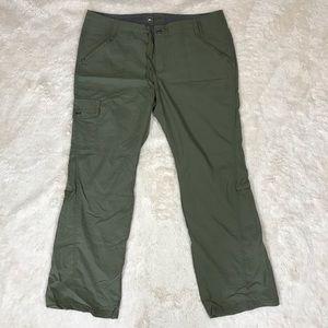 REI Olive Green Nylon Pant/Capri (12P)